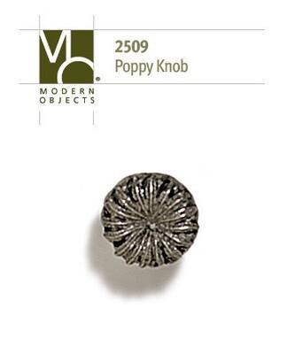 Modern Objects Designer Hardware Poppy Cabinet Knob