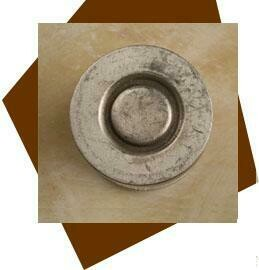 Anne At Home  Echo Cabinet Knob-Large w/ Backplate