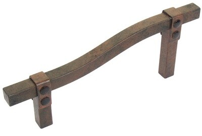Avante Hardware Iron Craft Pull, Stepped, 3 1/2