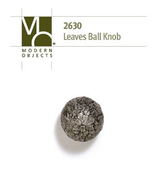 Modern Objects Designer Hardware Tree Leaves Ball Cabinet Knob
