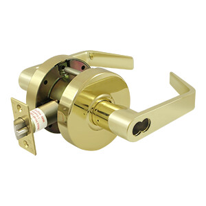 Deltana Architectural Hardware Commercial Locks: Pro Series Comm. Classroom IC Core GR2, Clarendon Less CYL each