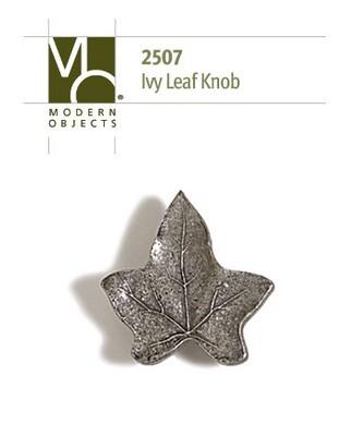 Modern Objects Designer Hardware Ivy Leaf Cabinet Knob