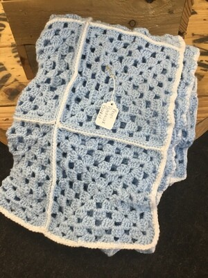 Boy's Patchwork Blanket