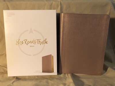 CSB She Reads Truth Study Bible Rose Gold