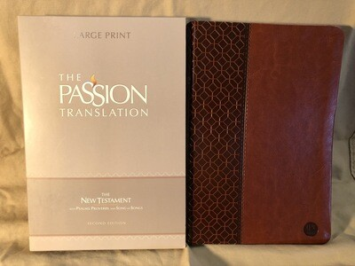 Brown Passion Bible