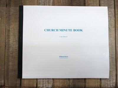 Church Minute Book