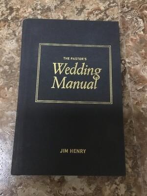Pastor's Wedding Manual