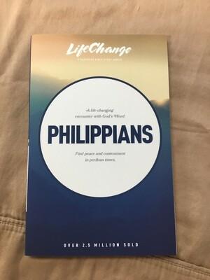 Philippians Life Change study