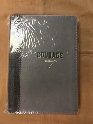 Courage Journal Grey