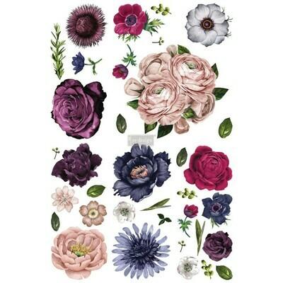 Prima Decor Transfer: Lush Floral II