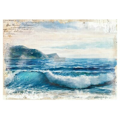 Prima Decor Transfer: Blue Wave