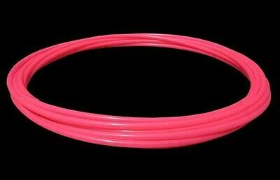 19mm Pink Polypro Hula Hoop Tube, 25m