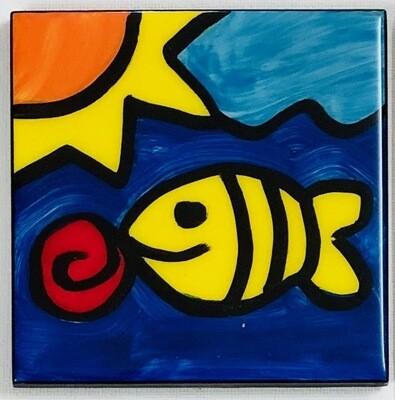 Fish / Sun Coaster