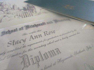 *Wizarding School Diploma