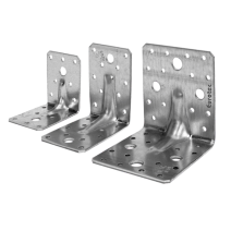 Eurotec Angle Bracket 90mm x 90mm x 65mm  Pack of 1