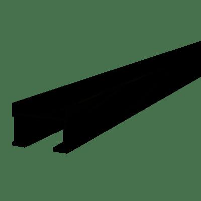 60mm x 40mm x 2400mm Aluminium Joists (1 Length) For Decking & Porcelain Tiles