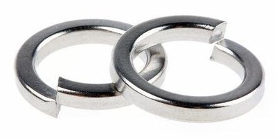 M3 Square Section Spring Washers To Din 7980 Zinc plated Pack of 1