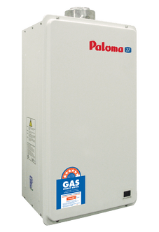 Paloma 27 l/min Internal Balanced Flue Gas Water Heater