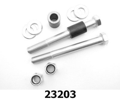 Rear Coilover Bolt Kit, steel or aluminum spacers