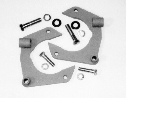 Mustang II Caliper Bracket Kit, for Granada rotors