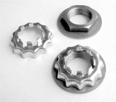 Mustang II Spindle Nut Kit