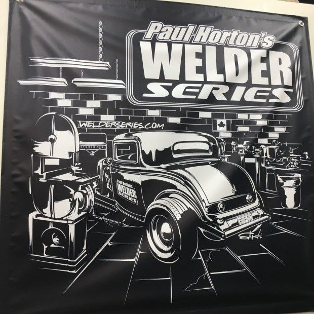 Welder Series 3x3 Shop Banner