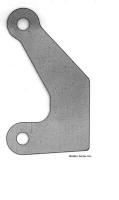 Batwing Side Plate, Weld-On