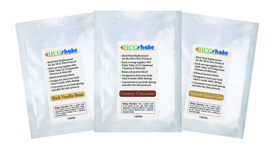 HCG Shake Samples - 15 Single Serving Packs