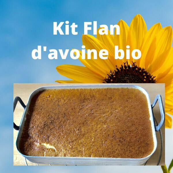 Kit Flan d'avoine bio protéiné