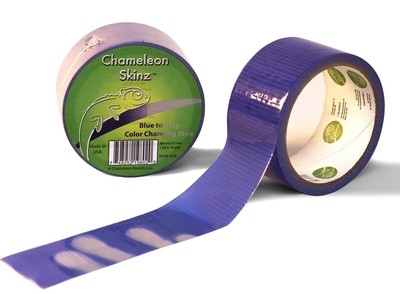 Colour Changing Duct Tape - Blue to Grey