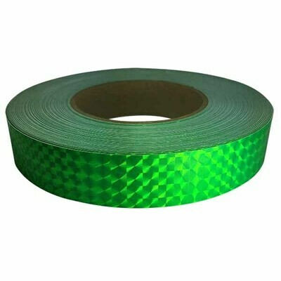 Prismatic Tape, Fluorescent Green