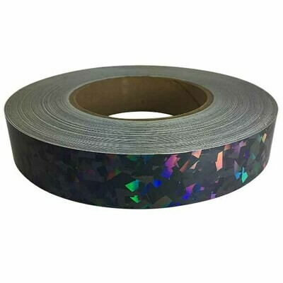 Holographic Tape, Black Crystal Carbon