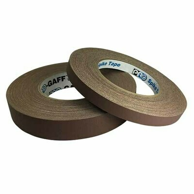 Matte Gaffer Tape, Brown (Pro-Gaff)