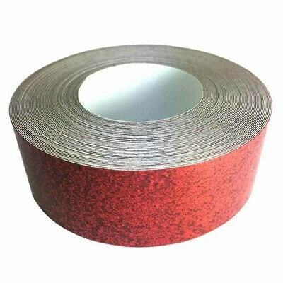 Glitter Tape, Cherry Red