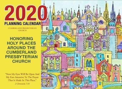 2020 Cumberland Presbyterian Program Planning Calendar