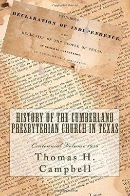 History of the Cumberland Presbyterian Church in Texas