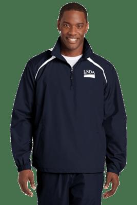 Unisex 1/2 Zip Wind Shirt