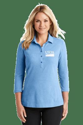 Ladies Coastal Blend Cotton Polo  REGULAR PRICE  $31.00