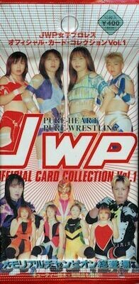 JWP Official Card Collection Vol. 1 1999 Single Pack