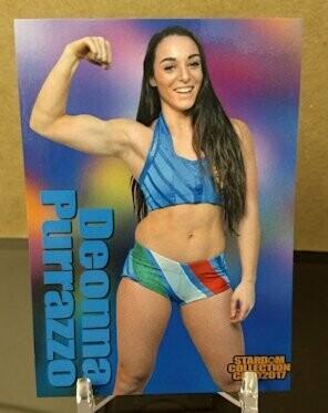 Deonna Purrazzo 2017 Stardom Base Card