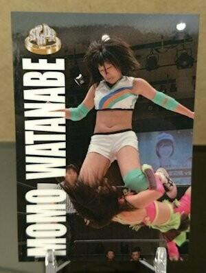 Momo Watanabe 2015 Stardom Base Card