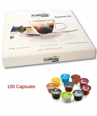 GOURMET KITS - 100 CAPSULES