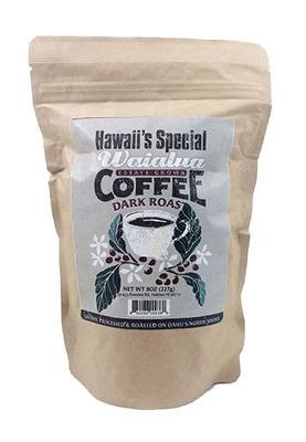 Waialua Coffee - Dark Roast, 8 oz - Whole Bean
