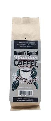 Waialua Coffee - Dark Roast, 2 oz - Ground