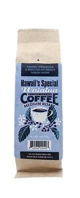 Waialua Coffee - Medium Roast, 2 oz - Whole Bean