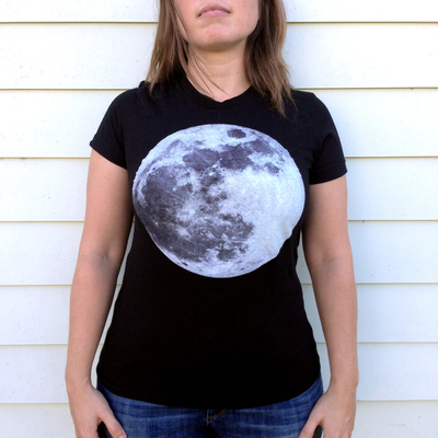 Womens Phosphorescent Moon