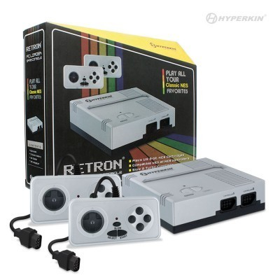 RetroN 1 Gaming Console for NES (Silver) - Hyperkin