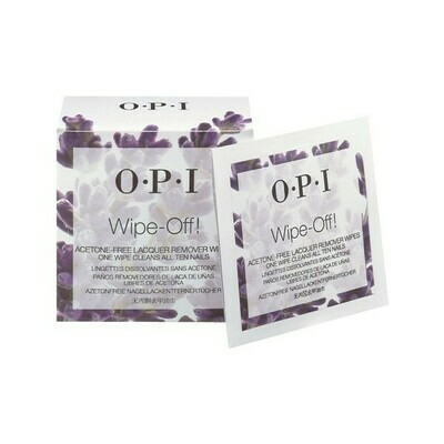 NAIL LACQUER WIPES *10