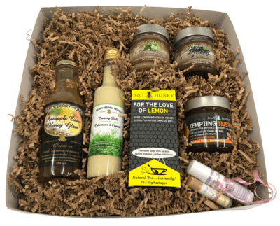 Customized  Beary Berry Honey Gift Box