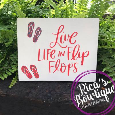 Flip Flop Sign